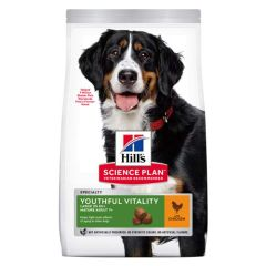 Hill's Science Plan Canine Mature Adult 5+ Senior Vitality Large Breed Pollo